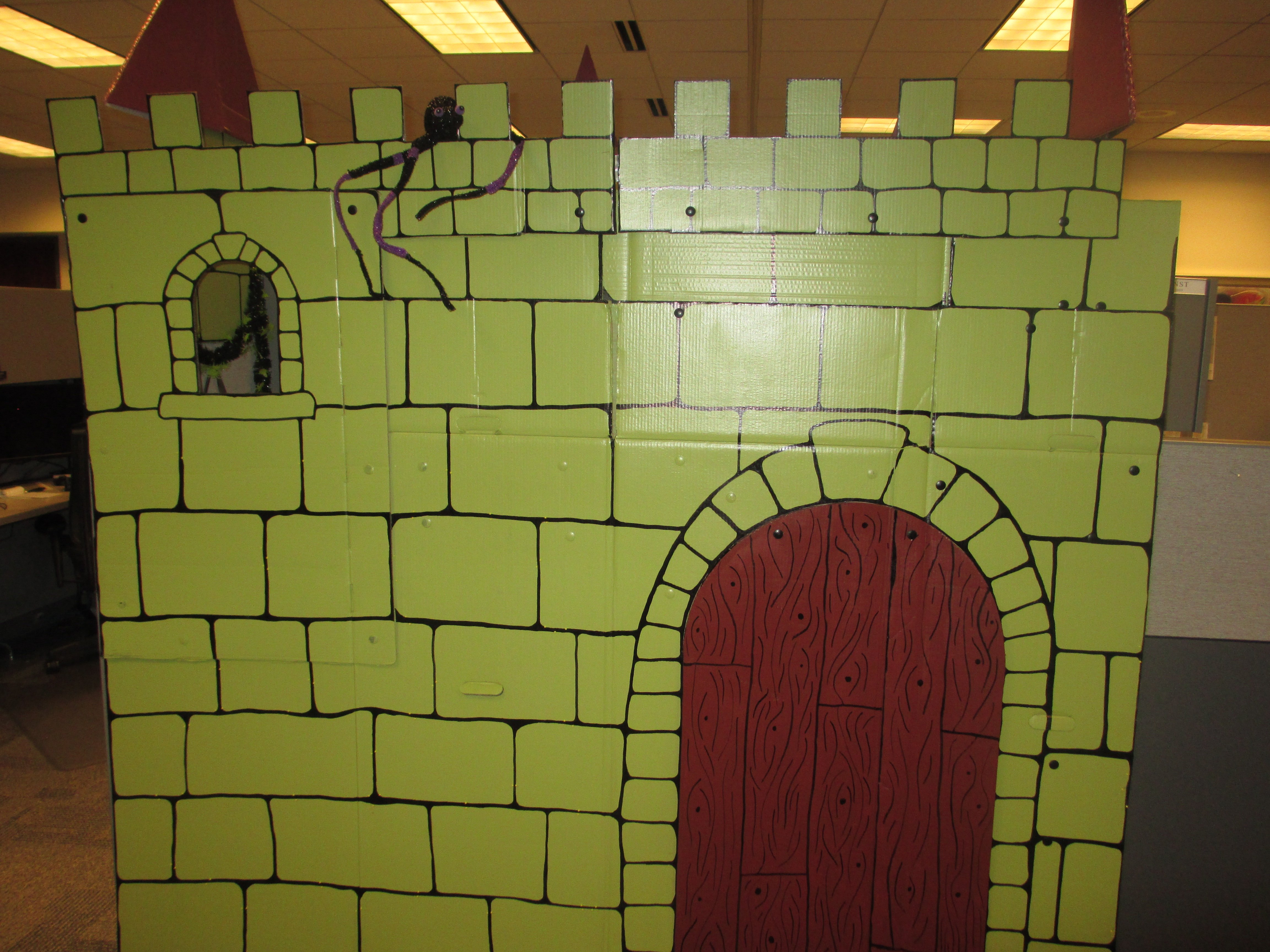 Cubicle Castle   geekgirlmae