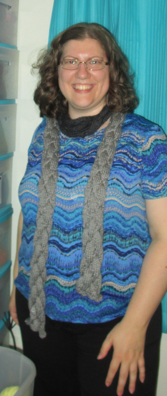 Knit Butterfly Stitch Scarf : Butterfly Scarf geekgirlmae